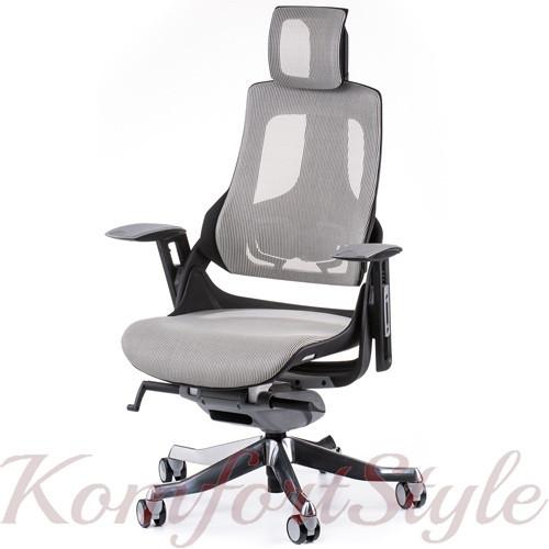Кресло офисное Wau snowy nеtwork