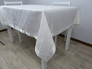 """Скатерть жаккардовая для стола """"SIMLI"""" 160х220 eco, clever"""