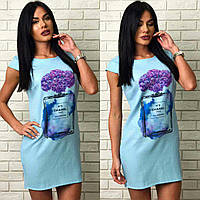 женское платье (жіноче плаття ) Со стильным принтом арт 001