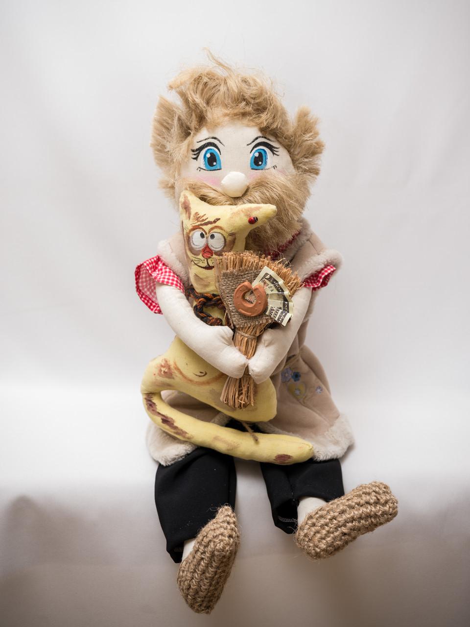Домовёнок  Vikamade кукла интерьерная.