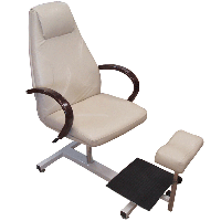 """Кресло для педикюра """"Арамис"""" на стеллаже"""