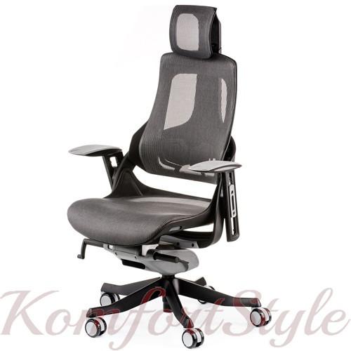 Кресло офисное Wau charcoal nеtwork