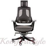 Кресло офисное Wau charcoal nеtwork, фото 2