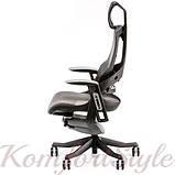 Кресло офисное Wau charcoal nеtwork, фото 3