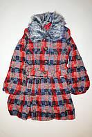 Демисезонное детское пальто для девочки, фото 1