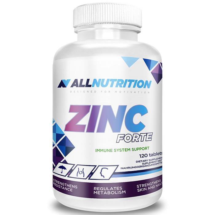 Вітаміни AllNutrition Zinc Forte 120 tabs