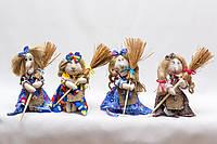 Текстильная кукла  Vikamade Баба-Яга миниатюра, фото 1