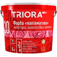 """Краска интерьерная полуматовая """"TRIORA"""" № 20 10,0 л"""