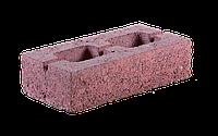 Вибропрессованный кирпич пустотелый (керамзитобетон), 250x120x65 мм, цвет красный, коричневый