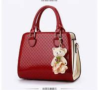 Женская сумка на плече ZHIERNA в 3 цветах ! Красный