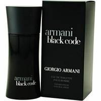 Мужская туалетная вода Giorgio Armani BLACK CODE (Джорджио Армани Блек код) 100 мл.