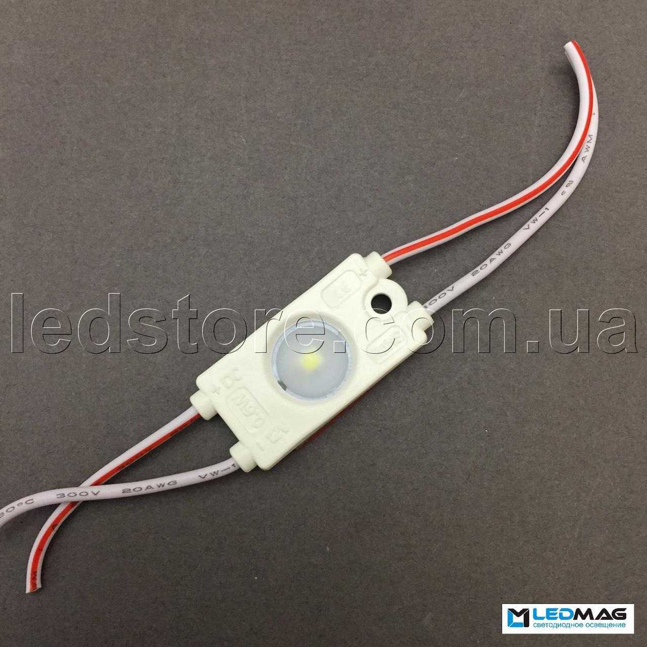 Светодиодный модуль PREMIUM 1LED SMD2835 Белый 5000-5500К IP65
