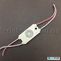 Светодиодный модуль PREMIUM 1LED SMD2835 Белый 5000-5500К IP65, фото 1