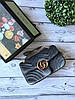 Милейшая сумочка GUCCI GG Marmont бархат 26 см (реплика)