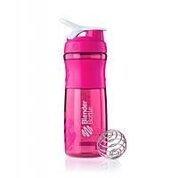 Blender Bottle, Спортивный шейкер-бутылка BlenderBottle SportMixer Pink/White, 760 мл