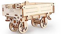 Деревянный конструктор 3D - механический Прицеп