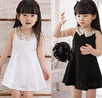 Модне, мереживне, нарядне плаття для дівчинки на літо