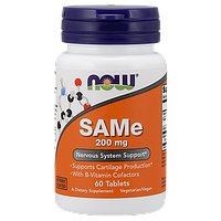 Препарат улучшающий метаболизм печеночных клеток NOW SAMe (200 мг) (60 таб)