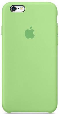 Чехол накладка xCase на iPhone 6/6s Silicone Case зеленый