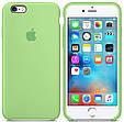 Чехол накладка xCase на iPhone 6/6s Silicone Case зеленый, фото 2