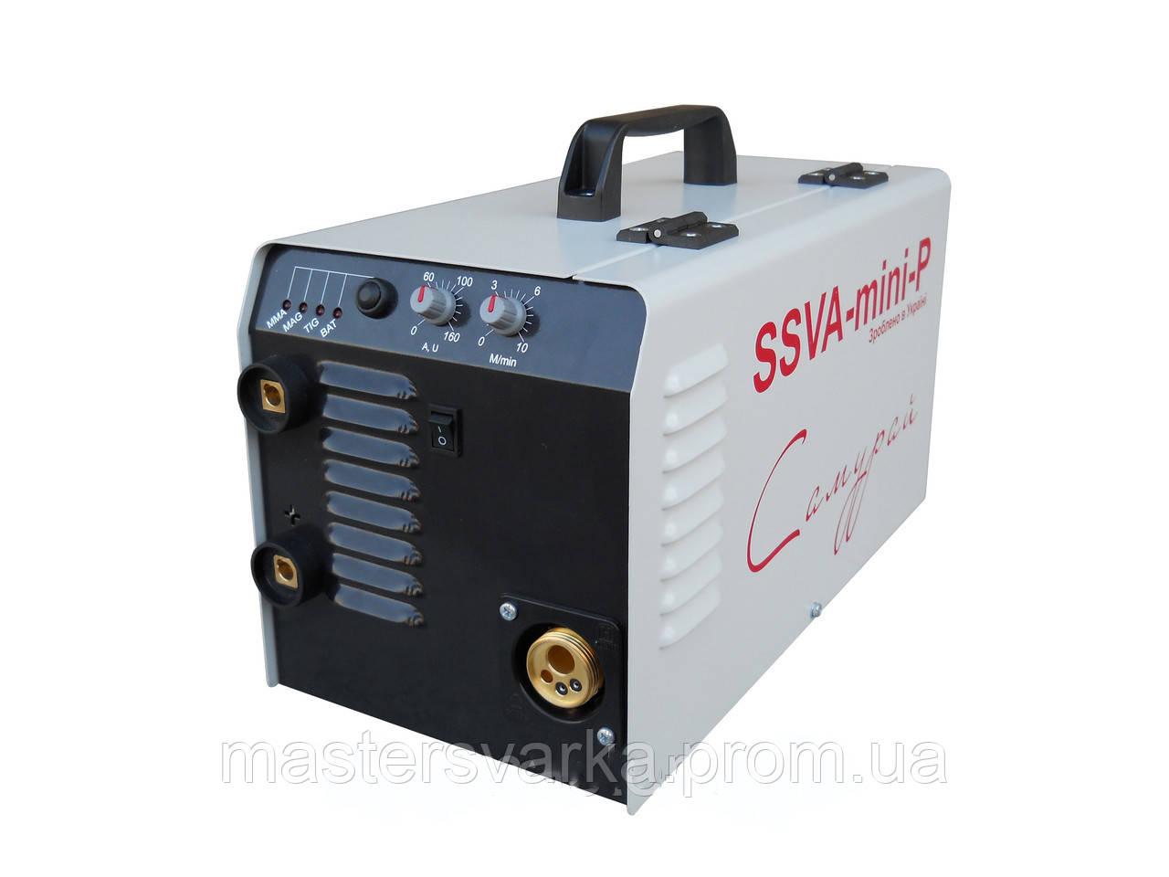 """Сварочный полуавтомат инверторного типа SSVA-mini-P """"Самурай"""" без сварочной горелки."""