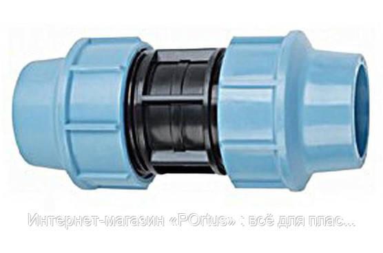 Муфта зажимная (соединительная) Ø32 Santehplast