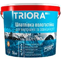"""Шпатлёвка фасадная (влагостойкая) """"TRIORA"""" 5,0 кг"""