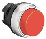 Механизм выступающей красной кнопки без фиксации  Lovato Electric  LPC B204