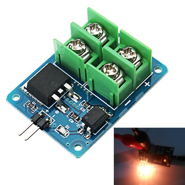 3V 5V Низкое управление High Voltage 12V 24V 36V MOS Модуль транзистора с полевым эффектом Модуль электронного переключателя 1TopShop