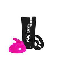 Optimum Nutrition Shaker ON 700 ml black/pink