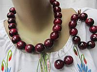 Бусы женские  комплект (браслет,серьги), фото 1