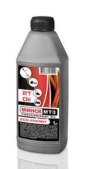 Масло 2Т Минск МТ-3 (1л) для триммеров, лодок, генераторов, снегоходов