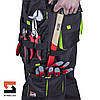 Костюм рабочий с брюками SteelUZ, салатовая отделка, фото 8
