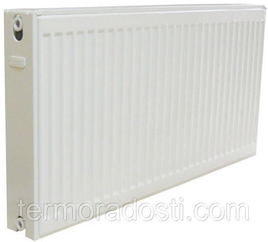 Панельный радиатор Djoul 300х2000 мм. (бок. подкл / тип 22)