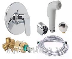 Комплект гигиенический душ и смеситель скрытого монтажа Hansgrohe Focus E2 32127111