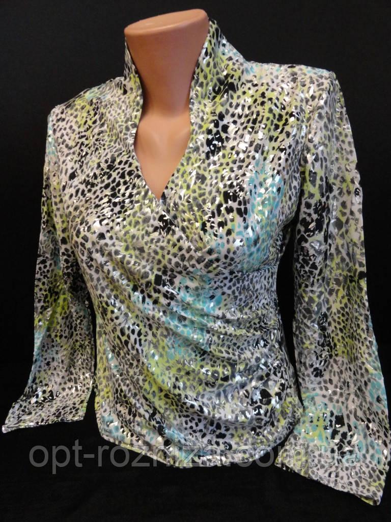 Женские блузы на запах недорого.