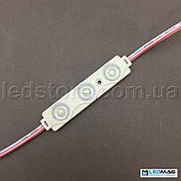 Светодиодный модуль с линзой OPTX 3LED SMD2835 IP65, фото 1