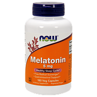 Снотворное NOW Melatonin 5 mg (180 капс)