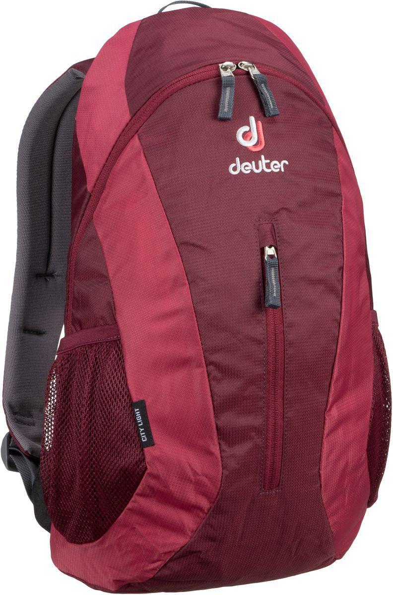 Городской рюкзак Deuter City Light maron-cardinal (80154 5529)