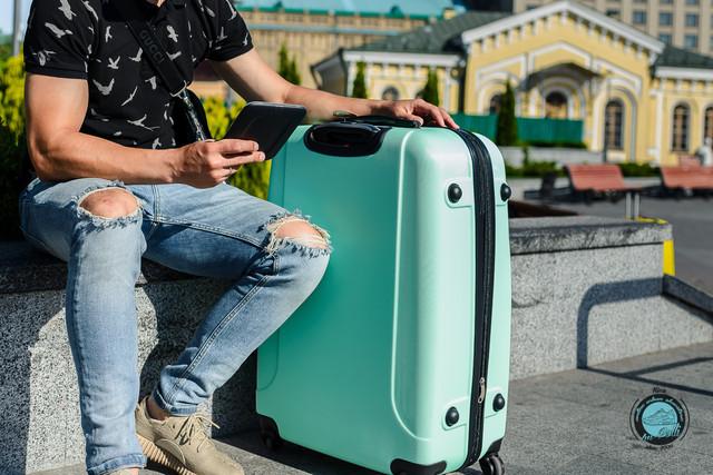 Чемодан на колесах в Украине