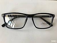 Имиджевые очки, модель 2002 черн.глянц., фото 1