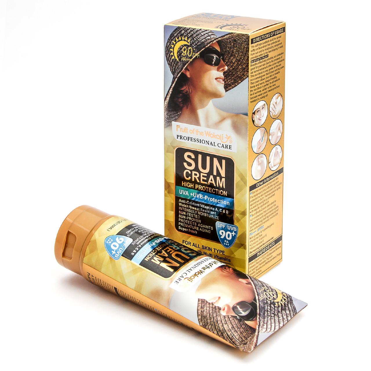Солнцезащитный крем Wokali SPF 90+