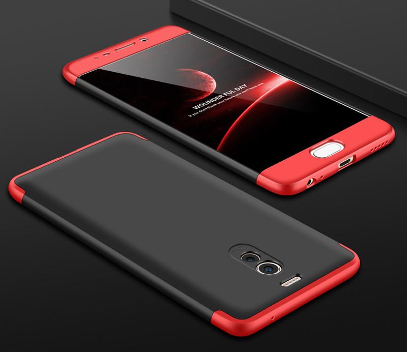 Чехол GKK 360 для Meizu M6 Note бампер оригинальный Black-Red