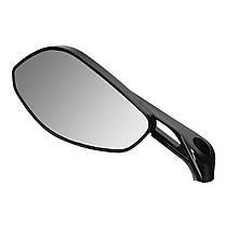 10 мм 8 мм с ЧПУ сторона сзади мотоцикл Зеркала Алюминиевая черная для Ducati/Harley/Honda/Kawasaki 1TopShop, фото 2