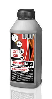 Масло 2Т Минск МТ-3 (0.5 л)для триммеров, лодок, генераторов, снегоходов