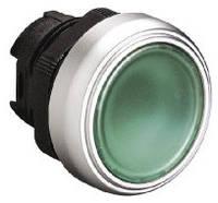 Механизм зеленой кнопки с подсветкой без фиксации  Lovato Electric  LPC BL103