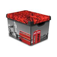 Коробка декоративная STOCKHOLM LONDON 23л