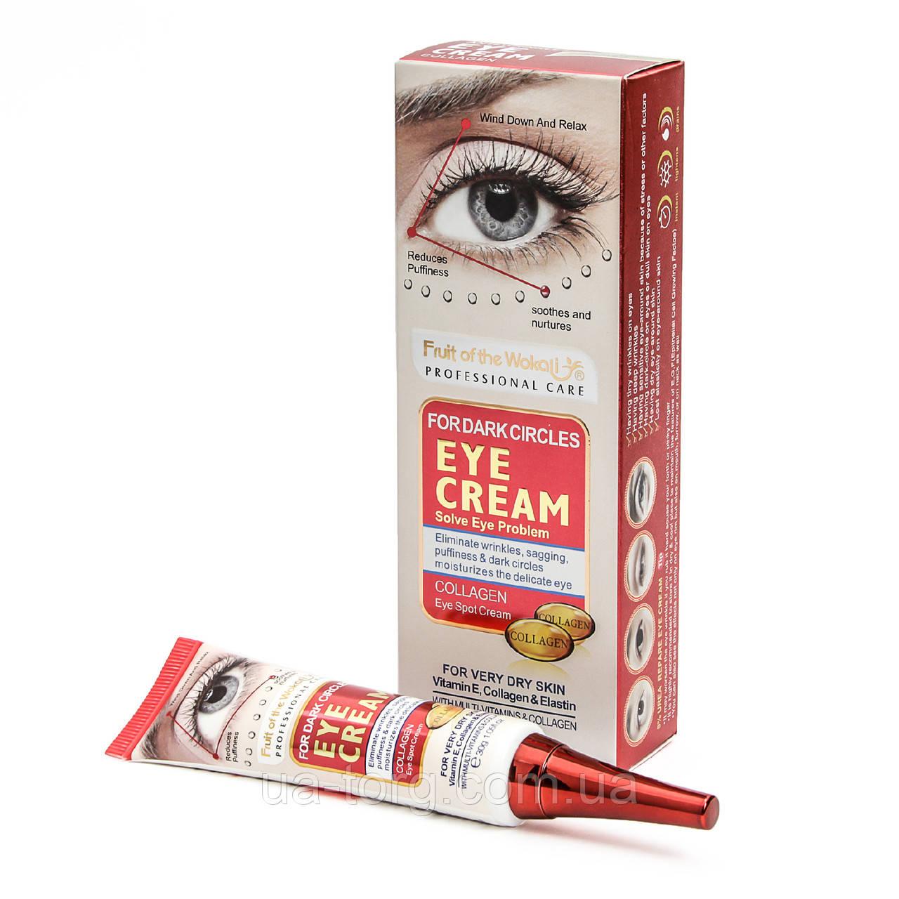 Крем под глаза  Fruit of the Wokali Anti wrinkle Eye Cream