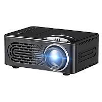 600 Lumens 1080P HD LED Portable Проектор 320 x 240 Разрешение Мультимедиа Кинотеатр домашнего кинотеатра