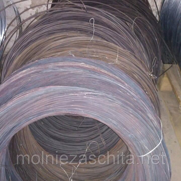 Дріт сталевий термічно необроблений 5 мм